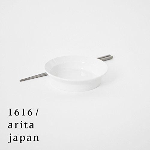 【아리타산 도자기/자기】arita japan TY RoundDeepPlate120 White TY 라운드Deep플레이트120 화이트