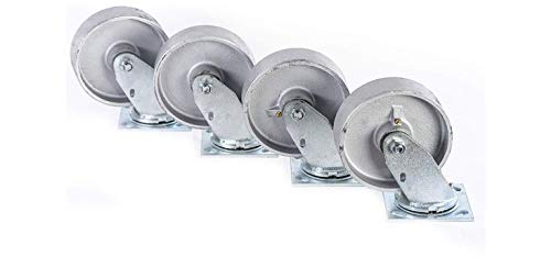 """6"""" X 2"""" Swivel Casters with Heavy Duty Semi-Steel"""