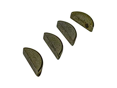 EngineRun Husqvarna Chainsaw Flywheel Woodruff Key (4 PCS Set) fits for 61 266 268 272 281 288 394 OEM 735880600 Ships from The USA 735 88 06-00