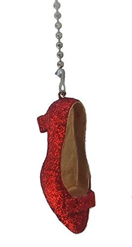 WeeZ Industries Ruby Red Slipper Ceiling Fan (Wicked Witch Of West Name)