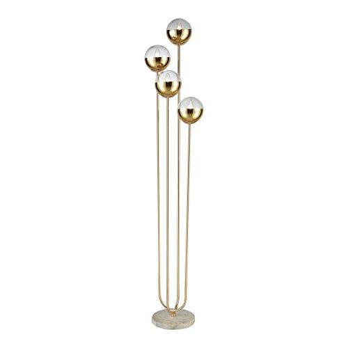 Diamond Lighting D3377 Floor lamp Gold, White ()