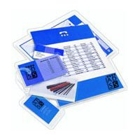 """10 Mil Drivers License Laminating Pouches 2-3/8"""" x 3-5/8"""" (500/bx)"""