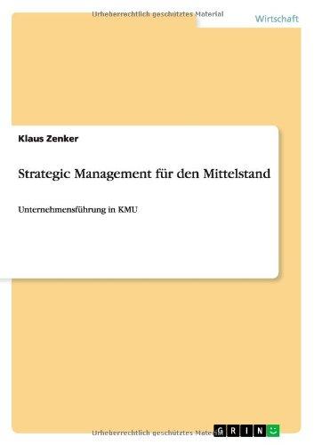 Strategic Management für den Mittelstand (German Edition) pdf epub