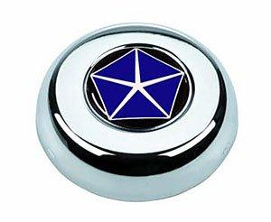 Grant 5693 Chrome Horn Button (Chrysler Pentastar)
