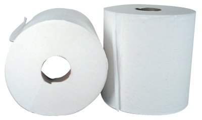 Boardwalk 6400 Center-Pull Hand Towels, White (Pack of 6) - Center Wipers Pull