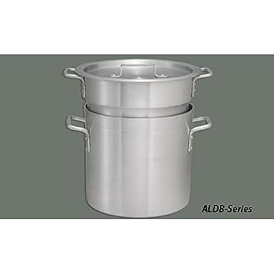 Winco ALDB-16 Aluminum Double Boiler Set, 16-Quart