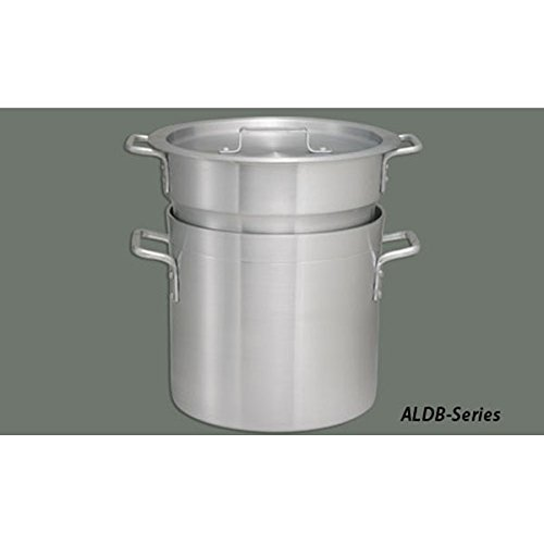 Winco ALDB-16 Aluminum Double Boiler Set, 16-Quart