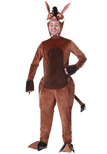 (Adult Warthog Costume Medium)