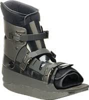 Black Body Armor Walker Low Small Mens 6 - 7.5/womens 7 - 8.5 Cast Replacement Walker Provides Rigid Contoured Upper with Removable Vented Liner to Provide Protection, Immobilization and Compression for Foot and Ankle Conditions in Which Ambulation Is Permitted