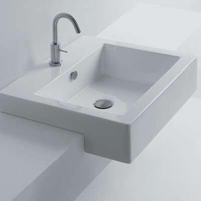 Whitestone Hox Semi-Recessed Bathroom Sink
