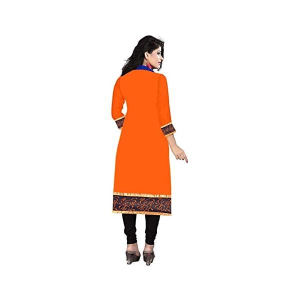 RAMDEV Women's cotton straight Kurta (Pack of 3) (Combo Kurti For Girl1_ Multi_ Free Size)