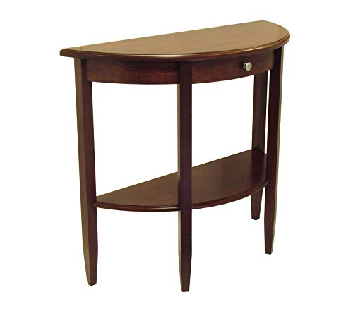 Winsоmе Wооd Deluxe Premium Collection Concord Occasional Table Antique Walnut Decor Comfy Living Furniture