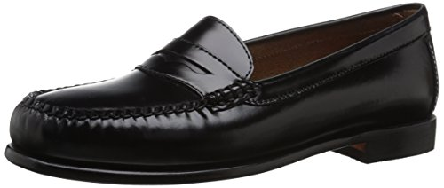 G.H. Bass & Co. Women's Wayfarer Penny Loafer - Black - 9...
