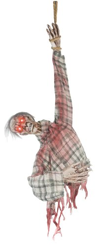 ANIMATED GHOUL TORSO HALLOWEEN PROP Haunted House Scary Yard Garden Decoration - SS80057 (Halloween Haunted House Decorations)