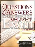 Questions and Answers to Help You Pass the Real Estate Exam, Paige Bovee Vitousek and John Reilly, 1419500929