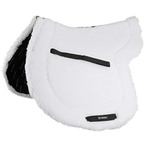 Back on Track TEDDY SADDLE PAD FULL WHITE