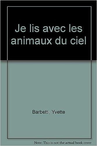 Livre gratuits Je lis avec les animaux du ciel pdf, epub ebook