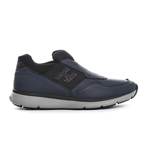 Hogan Slip On Sneakers Uomo HXM2540V760EJN4126 Pelle Blu
