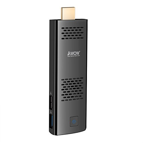 4GB 64GB Mini PC Stick by AWOW Windows 10 Pro