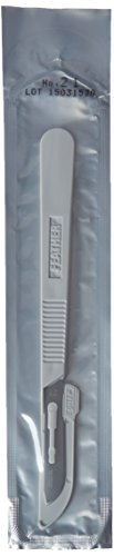 Feather 2975#21 Disposable Sterile Scalpel, #21 (Pack of (Feather Sterile Disposable Scalpels)