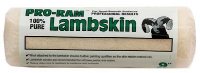 linzer/american brush rc699 Pro-Ram, 9'', 100% Pure Lambskin Paint Roller Cover by Linzer Products