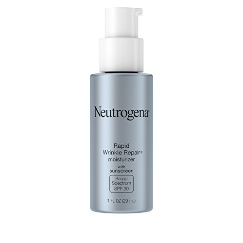 Neutrogena Rapid Wrinkle Repair Anti-Wrinkle Retinol Daily Face Moisturizer, with SPF 30 Sunscreen, 1 fl. Oz