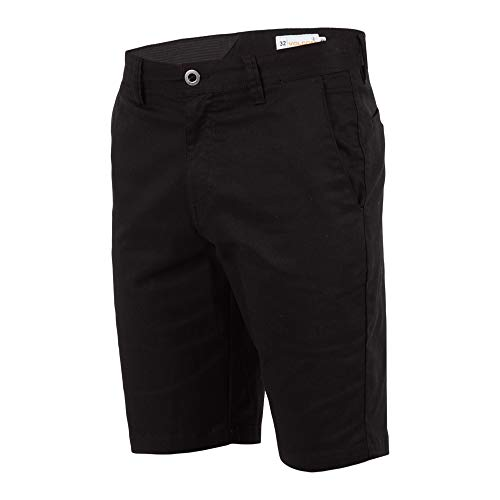 (Volcom Men's Frickin Modern Stretch Chino Short, Black, 36)