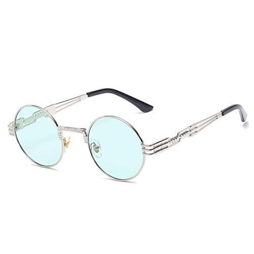 Lens Silver Sol Lens Gold Sol Frame De De Y Gafas Sol TLMY Hombre para Pesca Vintage de Gafas De De Clásicos Color Gafas Mujer Blue Pink Frame FqwnpxBC