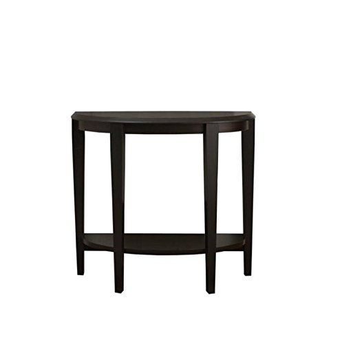 Pemberly Row 36″ Console Accent Table in Cappuccino For Sale