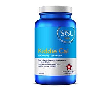 SISU Kids Kiddie Cal, Calcium 250mg, Black Cherry Flavour, 90 chewable tablets