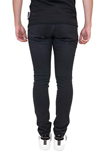 Mdt0561pde001n02 Nero Plein Cotone Uomo Philipp Jeans wtqRSxYanH
