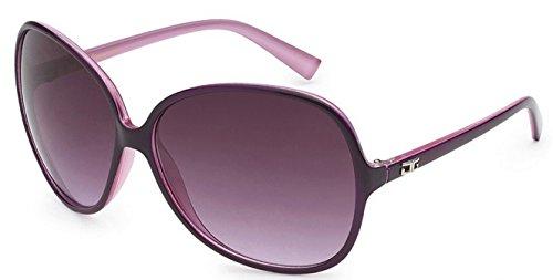 CG Eyewear Designer Vintage Oversized Women's Sunglasses (Plum/Purple Oversized)