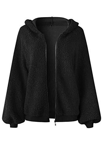 Sweat Survêtement Zippée Manteau Capuche Noir À Court Yacun Veste Femmes Tops 1wAWCqf