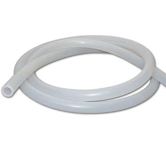 - 10 feet 1//8 I.D Silicone Tubing x 1//4 O.D 500F