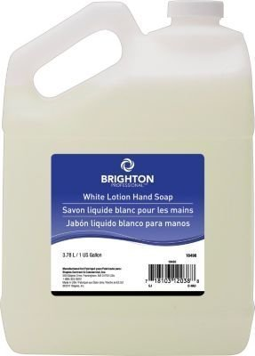 Brighton ProfessionalTM White Lotion Hand Soap, 1 gal.