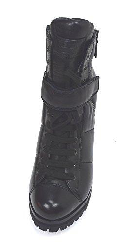 Tronchetto Prada Alla Donna 3tp012 Nero Stivale Pelle Black Caviglia Art 11TwP5qr