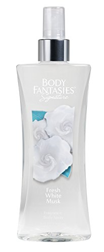 Body Fantasies Fresh White Musk Fantasy Fragrance Body Spray for Women, 8 Ounce (White Musk Body Spray compare prices)