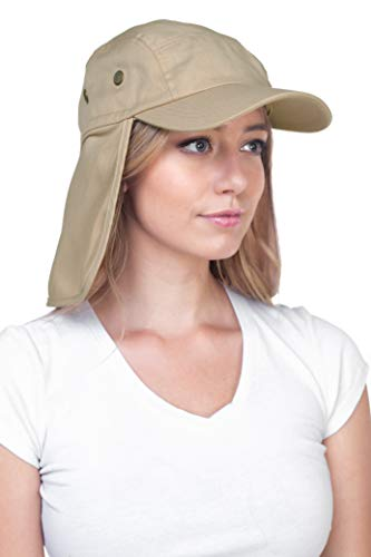 Fishing Hat. Products relevant to every fishing trip consist of hats. Top Level Fishing Sun Cap UV Protection - Ear and Neck Flap Hat, khk #fishing