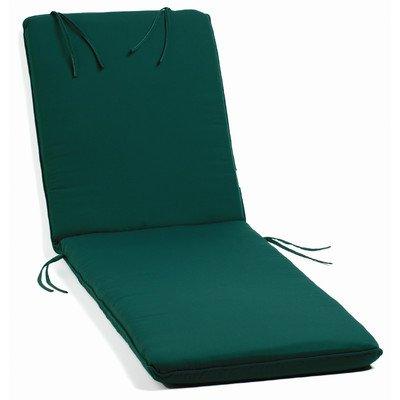 (Oxford Garden Chaise Lounge Cushion, Dupione Walnut)