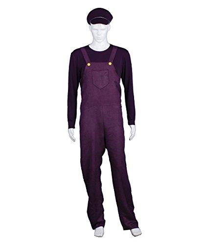 Adult Men's Purple Bad Plumber Costume HC-374