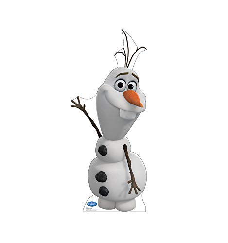 Advanced Graphics Olaf Life Size Cardboard Cutout Standup - Disney's Frozen (2013 Film) -