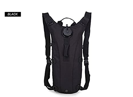 949c017fccb Amazon.com : Black-3L Water Bag Outdoor Tactical Hydration Backpack Camping  Camelback Nylon Cycling Camel Water Bladder Bag : Everything Else