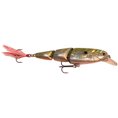 Matzuo Zen Triple Play Minnow Fishing Bait (Gold/Black Back/Orange Belly), Outdoor Stuffs