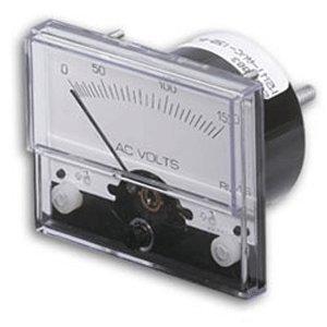 Paneltronics Ac Voltmeter - 33960-PANELTRONICS AC VOLTMETER 1 1/2 0-300VAC ANALOG