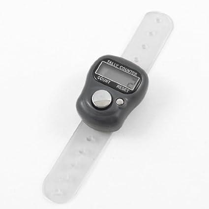 eDealMax portátil contador dedo de plástico blando banda ...