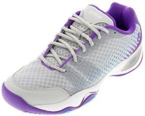 Prince T22 Lite Women s Tennis Shoes Gray Purple Blue 6 B M US