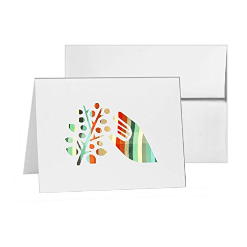 Fruit Picking Raspberry Plant Loganberry, Blank Card Invitation Pack, 15 cards at 4x6, Blank with White Envelopes Style 10376