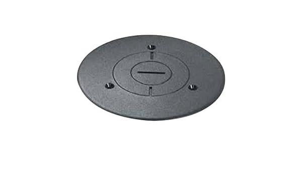 Wiremold 896PCK-BLK Black Polycarbonate Cover For Communication Floorbox 896PCK