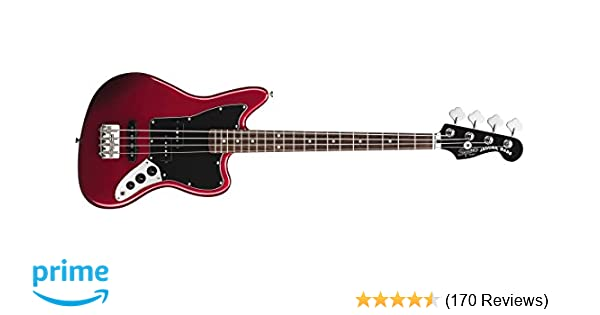 amazon com squier by fender vintage ss modified special jaguar bass amazon com squier by fender vintage ss modified special jaguar bass candy apple red musical instruments