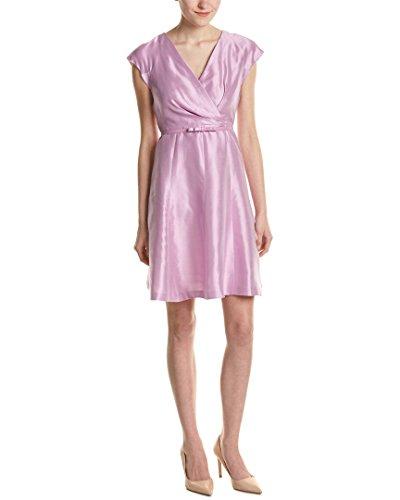 max-mara-womens-studio-silk-a-line-dress-6-pink
